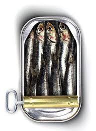 Come le sardine in scatola